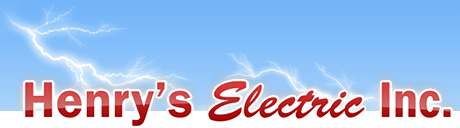 Henry's Electric Inc. Logo